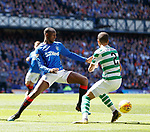 12.05.2019 Rangers v Celtic: Glen Kamara and Jeremy Toljan