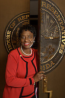 TALLAHASSEE, FL. 2/23/05-Rep. Arthenia Joyner, R-Tampa, was elected to the House of Representatives in 2000. COLIN HACKLEY PHOTO