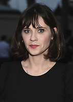 """CULVER CITY, CA - MAY 8:  Zooey Deschanel at Fox's """"New Girl"""" screening and recpetion at the Little Theater at the Fox Lot on May 8, 2018 in Culver City, California. (Photo by Scott Kirkland/Fox/PictureGroup)"""