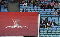 FUSSBALL FIFA Confed Cup 2017 Vorrunde in Sotchi 19.06.2017  Australien - Deutschland  Wenig Zuschauerinteresse bei Spielbeginn in Sotschi, das Spiel ist nicht Ausverkauft
