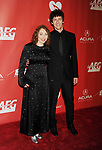 LOS ANGELES, CA - FEBRUARY 10: Singer-songwriter-musician Regina Spektor (L) and musician-actor Jack Dishel attend MusiCares Person of the Year honoring Tom Petty at the Los Angeles Convention Center on February 10, 2017 in Los Angeles, California.