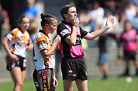 The Entrance Tigers play Wyong Roos in the 2019 Ladies League Tag Central Coast Rugby League Division Grand Final at Woy Woy Oval on 29 September, 2019 in Woy Woy, NSW Australia. Photo: Paul Barkley | LookPro Photography