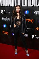 Maria de Nati attends to La Caza. Monteperdido premiere at Capitol cinema in Madrid, Spain. March 12, 2019. (ALTERPHOTOS/A. Perez Meca)