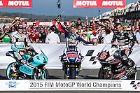 Moto GP 2015 / Foto de los Campeones