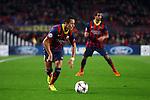 UEFA Champions League 2013/2014.<br /> FC Barcelona vs Celtic FC: 6-1 - Game: 6.<br /> Alexis Sanchez &amp; Martin Montoya.