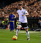 Valencia's  Rodrigo de Paul  during La Liga match. January 3, 2016. (ALTERPHOTOS/Javier Comos)
