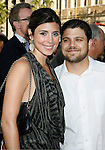 """HOLLYWOOD, CA. - June 02: Jamie-Lynn Sigler and Jerry Ferrera arrive at the Los Angeles premiere of """"The Hangover"""" at Grauman's Chinese Theatre on June 2, 2009 in Hollywood, California."""