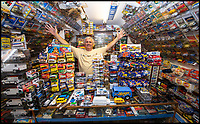Transit-man Peter Lee has the worlds biggest collection.
