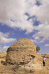 Israel, Northern Negev, water cistern from the Byzantine period in Park Ofakim