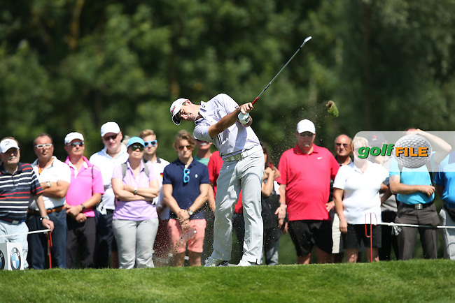 Gary Stal (FRA) on the 12th tee during Round Two of the 2015 BMW International Open at Golfclub Munchen Eichenried, Eichenried, Munich, Germany. 26/06/2015. Picture David Lloyd | www.golffile.ie