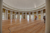 Renovations almost complete at the historical Rotunda at the University of Virginia in Charlottesville, Va. Photo/Andrew Shurtleff