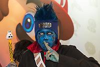 SÃO PAULO, SP, 12.10.2018 - BGS - Público durante a Brasil Game Show, maior feira de games da América Latina no Expo Center Norte no bairro da Vila Guilherme, na região norte da cidade de São Paulo nesta sexta-feira, 12. (Foto: Anderson Lira/Brazil Photo Press)