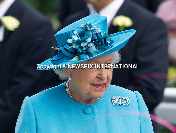 19.06.2014;Ascot, England: ROYAL ASCOT 2014 LADIES DAY - QUEEN ELIZABETH<br /> The Queen, Duke of Edinburgh, Princes Andrew and Harry Prince Harry, Princesses Anne, Eugenie and Beatrice in attendance on the Ladies Day of the 4-day Royal Ascot Race Meeting.<br /> Mandatory Photo Credit: &copy;Francis Dias/NEWSPIX INTERNATIONAL<br /> <br /> **ALL FEES PAYABLE TO: &quot;NEWSPIX INTERNATIONAL&quot;**<br /> <br /> PHOTO CREDIT MANDATORY!!: NEWSPIX INTERNATIONAL(Failure to credit will incur a surcharge of 100% of reproduction fees)<br /> <br /> IMMEDIATE CONFIRMATION OF USAGE REQUIRED:<br /> Newspix International, 31 Chinnery Hill, Bishop's Stortford, ENGLAND CM23 3PS<br /> Tel:+441279 324672  ; Fax: +441279656877<br /> Mobile:  0777568 1153<br /> e-mail: info@newspixinternational.co.uk