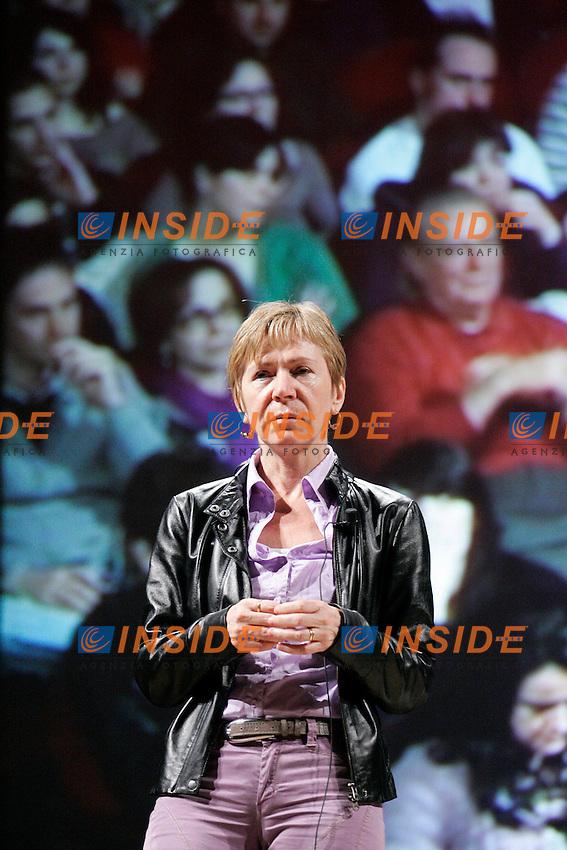 MILENA GABBANELLI.Perugia 17/04/2011 V Festival Internazionale del Giornalismo..Photo Samantha Zucchi Insidefoto