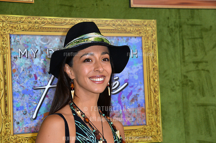 LOS ANGELES, CA. October 04, 2018: Oona Chaplin at the Los Angeles premiere for &quot;My Dinner With Herve&quot; at Paramount Studios.<br /> Picture: Paul Smith/Featureflash