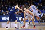 Turkish Airlines Euroleague 2017/2018.<br /> Regular Season - Round 8.<br /> FC Barcelona Lassa vs Valencia Basket: 89-71.<br /> Thomas Heurtel vs Sam Van Rossom.