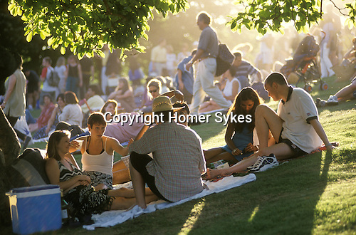 Free concert Hampstead Heath, Kenwood House. London.