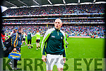 Kieran Donaghy, Kerry players after defeating Tyrone in the All Ireland Semi Final at Croke Park on Sunday.