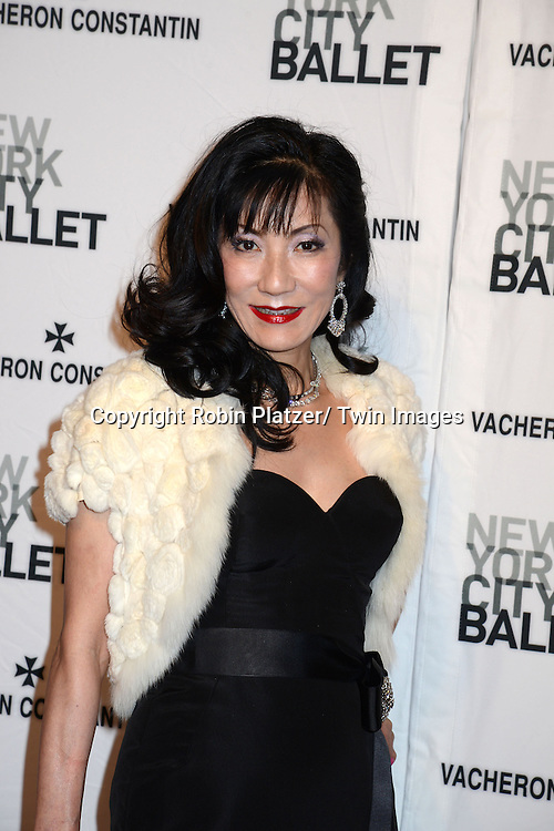 Patricia Shiah attends the New York City Ballet Spring 2014 Gala on May 8, 2014 at David Koch Theatre in Lincoln Center in New York City, NY, USA.