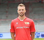 06.07.2019, Stadion an der Wuhlheide, Berlin, GER, 2.FBL, 1.FC UNION BERLIN , Mannschaftsfoto, Portraits, <br /> DFL  regulations prohibit any use of photographs as image sequences and/or quasi-video<br /> im Bild Marvin Friedrich (1.FC Union Berlin #5)<br /> <br /> <br />      <br /> Foto © nordphoto / Engler