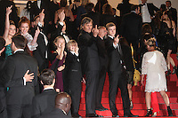 VIGGO MORTENSEN AND THE CAST OF THE FILM 'CAPTAIN FANTASTIC' - RED CARPET OF THE FILM 'PERSONAL SHOPPER' AT THE 69TH FESTIVAL OF CANNES 2016 , 17/05/2016.