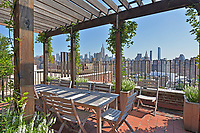 Roof Deck at 302 West 12th Street