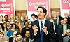 Rt Hon Ed Miliband MP <br /> speech on the economy <br /> at Senate House, Malet Street, London, Great Britain <br /> <br /> 17th January 2014 <br /> <br /> Ed Miliband <br /> Leader of the Labour Party and Leader of the Opposition. He is Member of Parliament for Doncaster North.<br /> <br /> <br /> <br /> Photograph by Elliott Franks