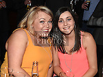 Kathy Ann Curley and Sarah Woods pictured at the Rock for Ryan event at The Venue in McHugh's. Photo:Colin Bell/pressphotos.ie