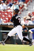 May 23, 2009:  Outfielder Fernando Martinez of the Buffalo Bisons, International League Triple-A affiliate of the New York Mets, during a game at Coca-Cola Field in Buffalo, NY.  Photo by:  Mike Janes/Four Seam Images