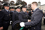 10/09/2015<br /> Gardai celebrate at the Garda Graduation Ceremony at the Garda College, Templemore, Co. Tipperary.<br /> Pic: Press 22