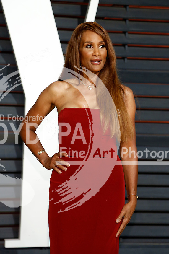 Beverly Johnson attending the Vanity Fair Oscar Party 2015 on February 22, 2015 in Beverly Hills, California.