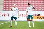 Davy Klaassen (SV Werder Bremen) und Marco Friedl (SV Werder Bremen), <br /> <br /> Sport: Fussball: 1. Bundesliga:: nphgm001:  Saison 19/20: 33. Spieltag: 1. FSV Mainz 05 vs SV Werder Bremen 20.06.2020<br /> Foto: Neis/Eibner/Pool/via gumzmedia/nordphoto<br /><br />DFB regulations prohibit any use of photographs as image sequences and/or quasi-video.<br />Editorial Use ONLY<br />National and International News Agencies OUT<br />  DFL REGULATIONS PROHIBIT ANY USE OF PHOTOGRAPHS AS IMAGE SEQUENCES AND OR QUASI VIDEO<br /> EDITORIAL USE ONLY<br /> NATIONAL AND INTERNATIONAL NEWS AGENCIES OUT