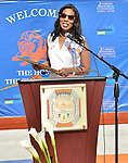 MIAMI GARDENS, FL - MAY 12: Dr. Roslyn Clark Artis - President of Florida Memorial University attends the Opening of  Florida Memorial University's  Multi-Purpose Arena and Wellness Education Center and the Launch of their Health Matters Movement at Florida Memorial University on Thursday May 12, 2016 in Miami Gardens, Florida.  ( Photo by Johnny Louis / jlnphotography.com )