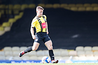 Josh Falkingham, Harrogate Town,  in action during Southend United vs Harrogate Town, Sky Bet EFL League 2 Football at Roots Hall on 12th September 2020