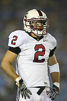 1 October 2006: Nick Sanchez during Stanford's 31-0 loss to UCLA at the Rose Bowl in Pasadena, CA.