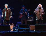 David Crosby and Graham Nash.  Crosby, Stills & Nash at Max-Schmeling-Halle, Berlin, Germany
