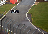 during the Mercedes-AMG F1 W09 EQ Power+ 2018 F1 Car Launch at Silverstone, England on 22 February 2018. Photo by Vince  Mignott.