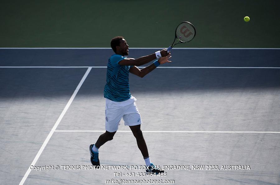 GAEL MONFILS (FRA)<br /> <br /> TENNIS - THE US OPEN - FLUSHING MEADOWS - NEW YORK - ATP - WTA - ITF - GRAND SLAM - OPEN - NEW YORK - USA - 2016  <br /> <br /> <br /> <br /> &copy; TENNIS PHOTO NETWORK