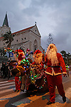 Israel, Tel Aviv-Yafo, the Orthodox Christmas procession in Jaffa