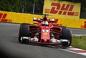 June 11th 2017, Circuit Gilles Villeneuve, Montreal Quebec, Canada; Formula One Grand Prix, Race Day. #5 Sebastian Vettel (GER, Scuderia Ferrari)