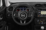 Car pictures of steering wheel view of a 2019 JEEP Renegade Limited 5 Door SUV Steering Wheel