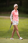 Golfer Ji Min Kim of South Korea during the 2017 Hong Kong Ladies Open on June 10, 2017 in Hong Kong, China. Photo by Marcio Rodrigo Machado / Power Sport Images