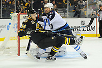 NHL 2014: Jets vs Bruins JAN 04
