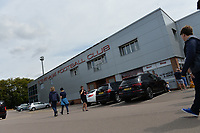 Stevenage FC during Stevenage vs Tranmere Rovers, Sky Bet EFL League 2 Football at the Lamex Stadium on 4th August 2018