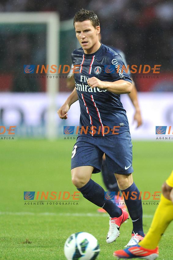 Kevin Gameiro (PSG)  .Parigi, 04/08/2012.Trofeo di Parigi .Paris Saint Germain vs FC Barcellona.foto Insidefoto / Jean Bibard / Panoramic ..Italy Only