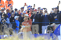 /{prsn}/ during Saturday's Foursomes Matches at the 2018 Ryder Cup 2018, Le Golf National, Ile-de-France, France. 29/09/2018.<br /> Picture Eoin Clarke / Golffile.ie<br /> <br /> All photo usage must carry mandatory copyright credit (&copy; Golffile | Eoin Clarke)