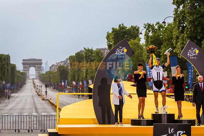 Marcel Kittel, Team Giant Shimano, Tour de France, Stage 21: Évry > Paris Champs-Élysées, UCI WorldTour, 2.UWT, Paris Champs-Élysées, France, 27th July 2014, Photo by Thomas van Bracht
