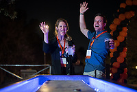 Alumni, family and friends have fun at the Soiree on the Quad during Alumni Reunion Weekend on Saturday, June 22, 2019 on the campus of Occidental College. This year was for the classes of 1969, 1974, 1979, 1984, 1989, 1994, 1999, 2004, 2009 & 2014.<br /> (Photo by Marc Campos, Occidental College Photographer)