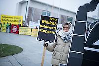 2014/12/03 Umwelt | Kohle-Protest vor Kanzleramt