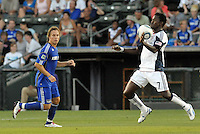 Kenny Mansally...Kansas City Wizards defeated New England Revolution 4-1 at Community America Ballpark, Kansas City, Kansas.